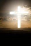 Kors av lampa Arkivfoto