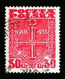 Kors av självständighet, serie, circa 1933 Royaltyfria Foton