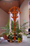 Kors av St Michael Arkivfoto