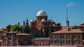 Kors fängelse, St Petersburg, Ryssland Arkivfoton