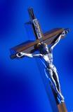 kors jesus Royaltyfria Foton