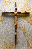 kors jesus Royaltyfri Fotografi