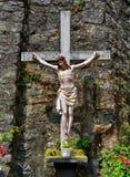 kors jesus Arkivbilder