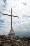 Kors med stormiga himlar (2) Arkivbilder