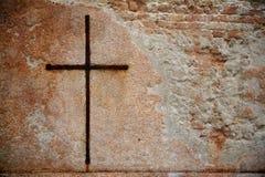 kors rostiga venice Arkivbilder