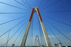 Korsa bron Vietnam Arkivbilder