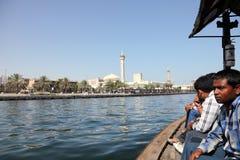 Korsa Dubaiet Creek Fotografering för Bildbyråer