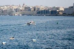 Korsa havet Fotografering för Bildbyråer