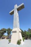 Korsa i Filerimos, den Rhodes ön, Grekland Arkivfoto