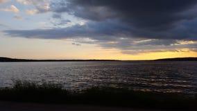 Korsa Ohioet River Arkivfoto