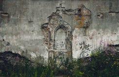 Korsa på väggen _ Efter kriga fotografering för bildbyråer