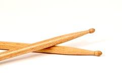 korsade drumsticks royaltyfri foto
