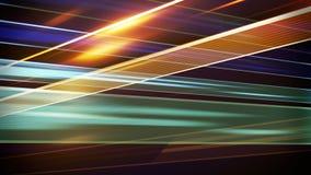 Korsade linjer abstrakt tolkning för techno 3D Royaltyfri Bild