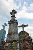 korsar över skyen Royaltyfri Foto
