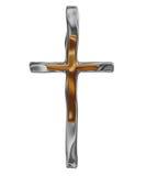 korset framför royaltyfri illustrationer