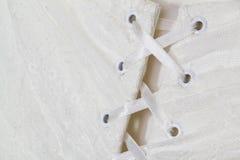 Korsetthochzeitskleid Stockbilder