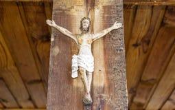 korsfäste jesus royaltyfria bilder