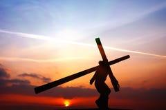 Korsfästelsen Fotografering för Bildbyråer