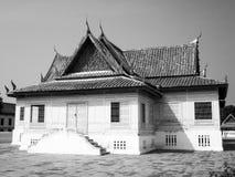 Korsformigt Chantharakasem för tält nationellt museum Arkivbild