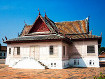 Korsformigt Chantharakasem för tält nationellt museum Royaltyfri Foto