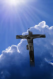 korsgud jesus Arkivbild