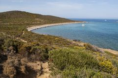Korsika Corse, Cap Corse, övreCorse, Frankrike, Europa, ö Royaltyfri Fotografi