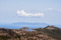 Korsika Corse, Cap Corse, övreCorse, Frankrike, Europa, ö Arkivbild