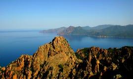 Korsika Frankrike Royaltyfri Fotografi