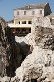 Korsika hus Royaltyfria Bilder
