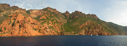 Korsika-Küste (Frankreich) Lizenzfreies Stockfoto