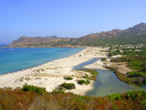 Korsika - materielbild Arkivfoton