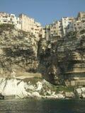 Korsika med färjan Arkivbilder