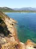 Korsika, Pinarello Stockfotografie