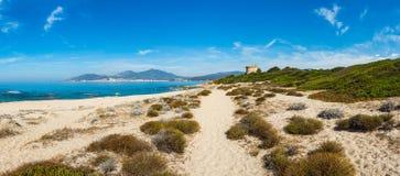Korsika strand Arkivfoto
