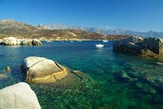 Korsika-Wasser Stockfotografie