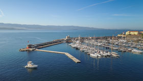 Korsischer Hafen Lizenzfreies Stockbild
