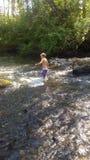 Korsning The Creek Arkivbilder