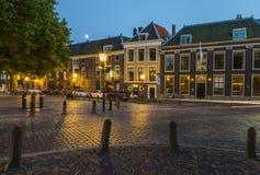 Korsning Houttuinen Dordrecht Arkivbilder