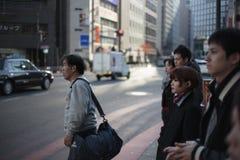 Korsning tokyo Arkivbilder