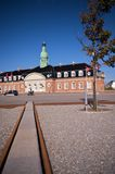 Korsoer, Denmark. Maritime Building in Korsor, Denmarlk stock photos