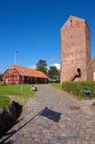 Korsoer, Denmark. The History museum in Korsor, Denmark stock photos