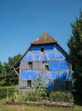 Korsvirkes- hus, Frankrike Royaltyfri Fotografi