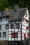 Korsvirkes- tyskt hus Fotografering för Bildbyråer
