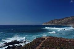 Korsykański przylądek fotografia stock