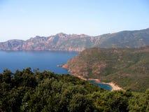 Korsyka bay Zdjęcie Royalty Free