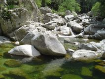 korsyka skał Fotografia Stock