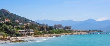 Korsykański kurort Obraz Stock