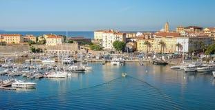 Korsykanina Port Fotografia Royalty Free