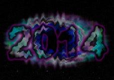 kort 2014 Arkivfoton
