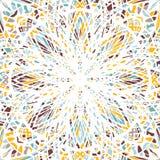Kort eller inbjudan dekorativ elementtappning vektor illustrationer